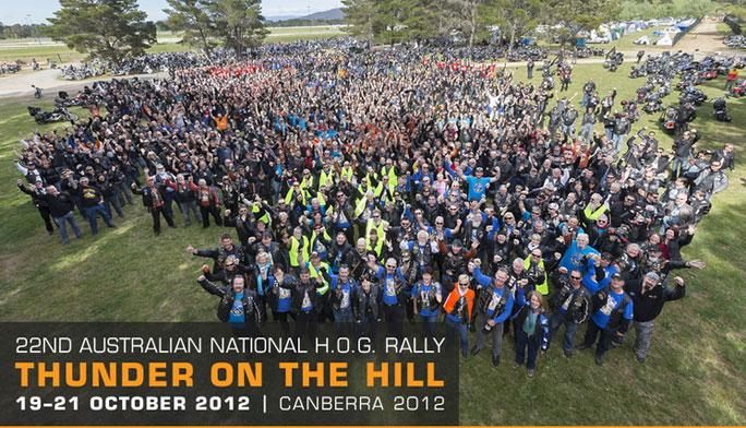 Thunder on a Hill – HOG Rally