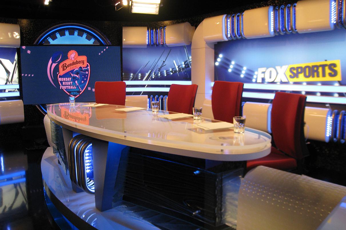 Fox Sports Studio LED Screens