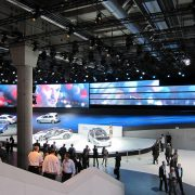 Frankfurt International Motor Show LED Display Digital Signage