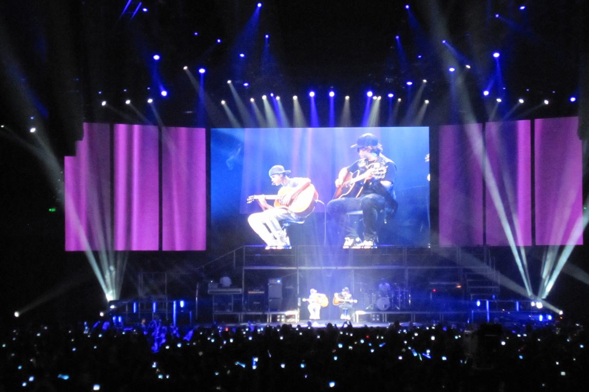Justin Beiber Concert LED Big Screen