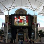 Movie World Big Screen Digital Signage