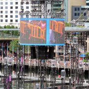 Darling Harbour Water Stage LED Big Screen