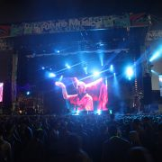 Future Music Festival Stage LED Screen Video Wall