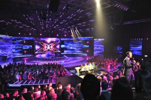 X Factor New Zealand Stage LED Display