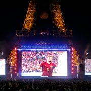 Eiffel Tower Digital LED Scoreboard