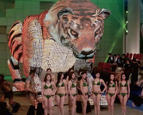 Tiger Custom LED Artwork SF Series Screen