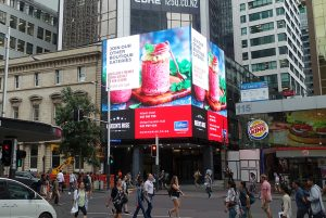 MM Series Queens Rise Outdoor Advertising LED Digital Billboard