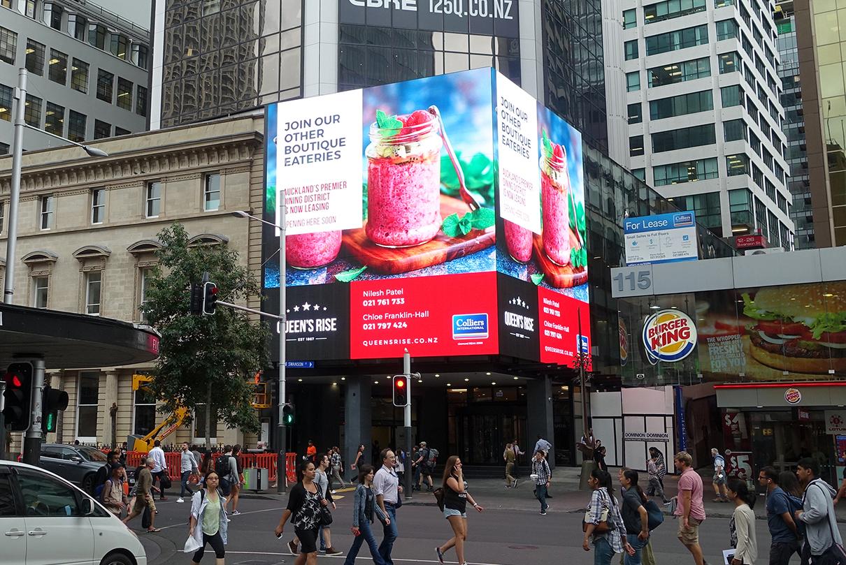 MM Series Queens Rise Outdoor Advertising LED Digital Billboard