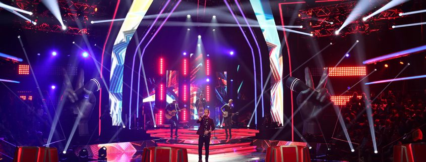 The Voice South Africa E Series Vuepix LED screens