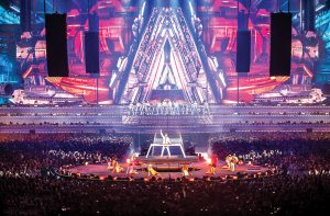 Armin Van Buuren Concert Digital Display LED Screens and LED Mesh
