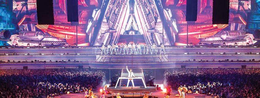 Armin Van Buuren Concert Digital Display LED Screens and LED Mesh