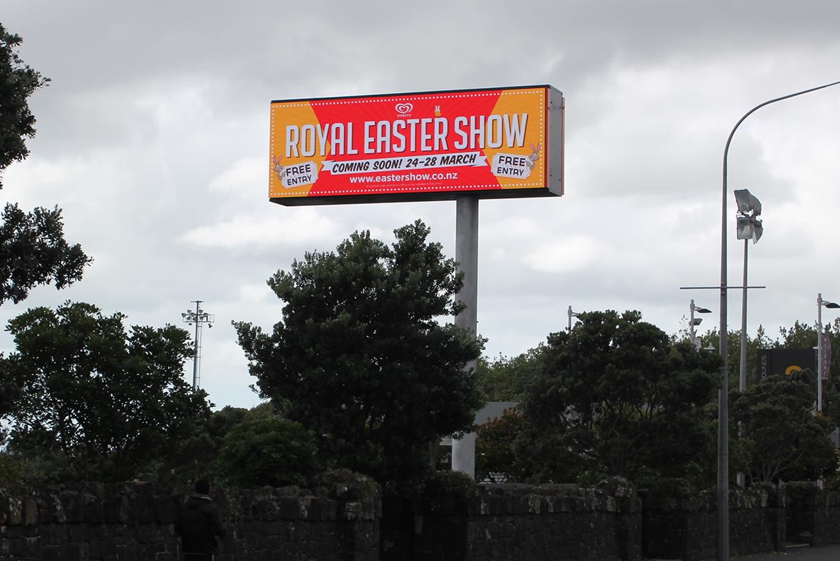 Showgrounds Outdoor LED Digital Billboard Advertising