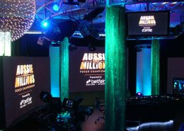 Poker Championship Digital Signage LED Screens