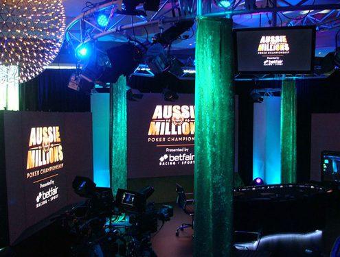 Poker Championship Digital Signage LED Screens