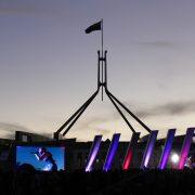 australia day canberra 2015 Digital Big screen