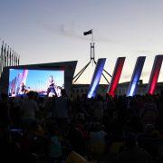 canberra australia day LED Big Screen