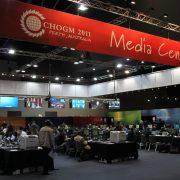 CHOGM media centre