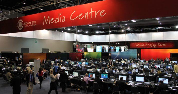 media centre CHOGM