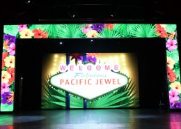 Pacific Jewel P&O Cruises Stage LED SCreen