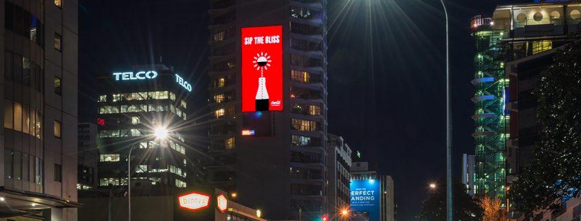 Coca Cola Outdoor Digital Billboard Advertising