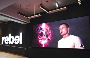 Series S - Rebel Sports Digital Signage LED Billboard