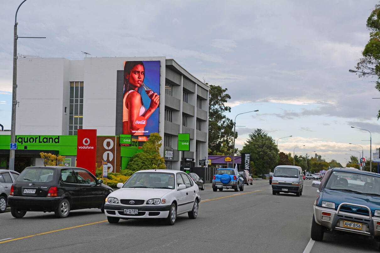 aura riccarton Outdoor LED Digital Billboard Advertising