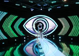 big brother dreamworld LED Curved Wall