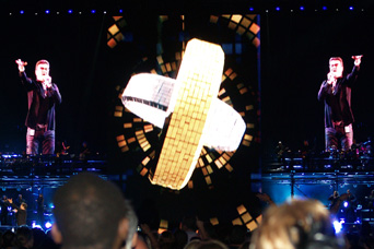 VuePix® on the George Michael Concert