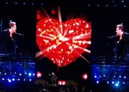 George Michael Concert Stage LED Screens