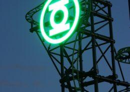 Green Lantern LED Signage
