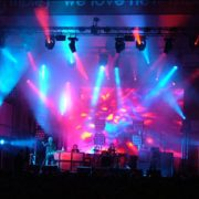 Groovin the Moo Concert Stage LED Wall
