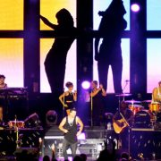 Guy Sebastian Concert Stage Digital Display