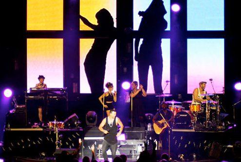 Guy Sebastian Concert Stage Digital Display