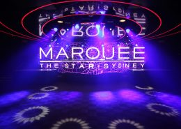 Marquee Club Sydney Curved LED Video Wall
