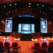 P&O Cruises Pacific Aria Stage LED Screens
