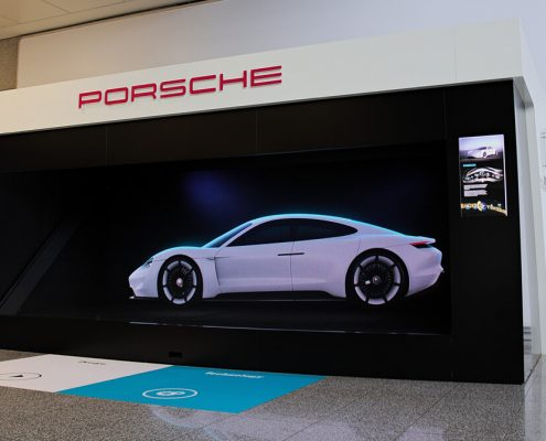 Porsche Frankfurt LED Wall