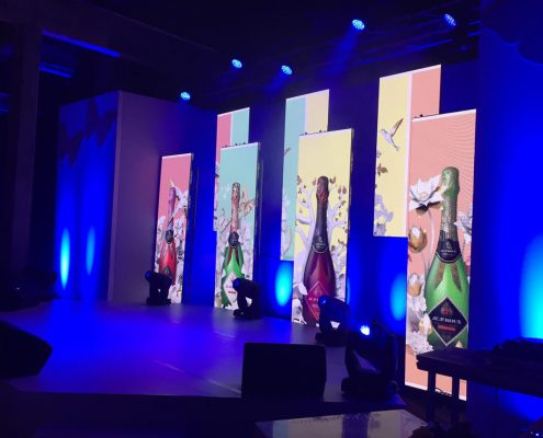 Sanlam Event LED Screen Pannels