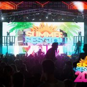 summer session fesitval LED Video Wall