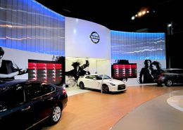 motor show sydney Curved LED