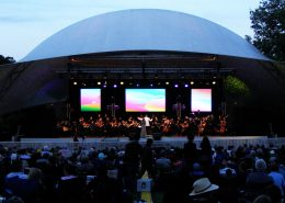 Symphony in the Park LED Screen