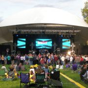 2012 Symphony in the Park LED Screens