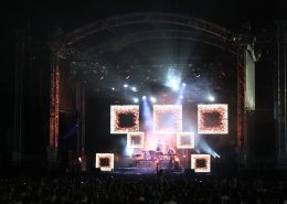 v8 super cars Concert LED Display