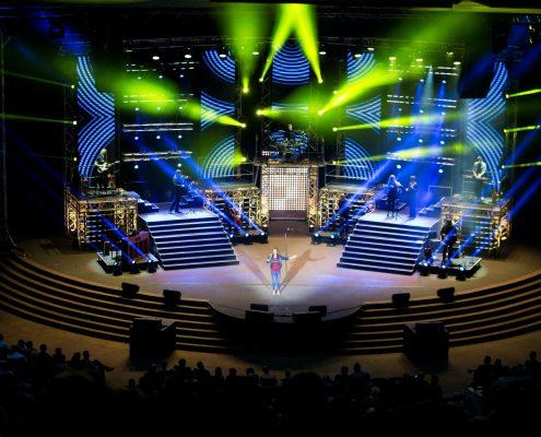 Gospel Skouspel Stage LED Panels