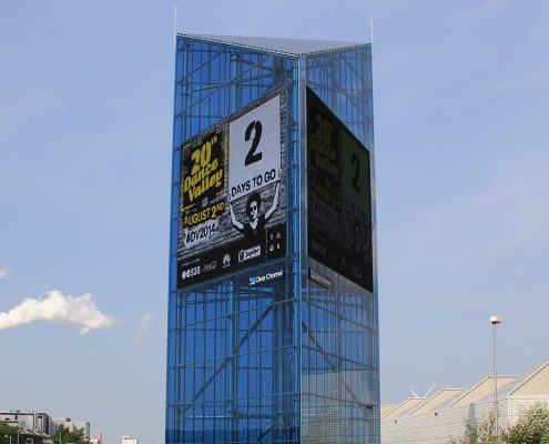Outdoor Billboard LED Screen Digital Advertising