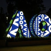 Australian Open Custom LED Sign Digital Advertising