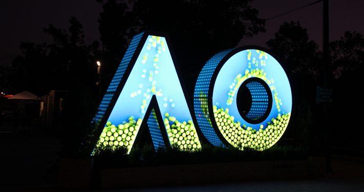 Australian Open Custom LED Sign Digital Advertising