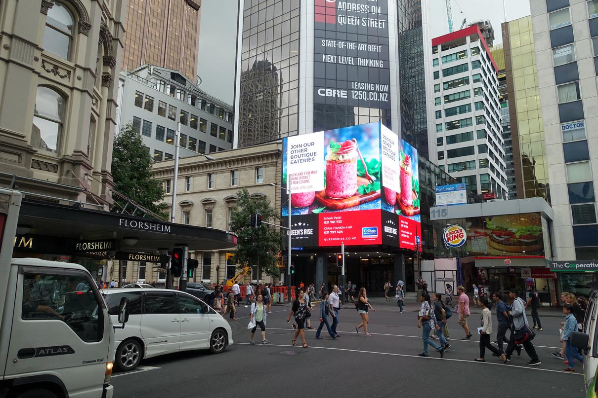 Queens Rise Outdoor Billboard Advertising