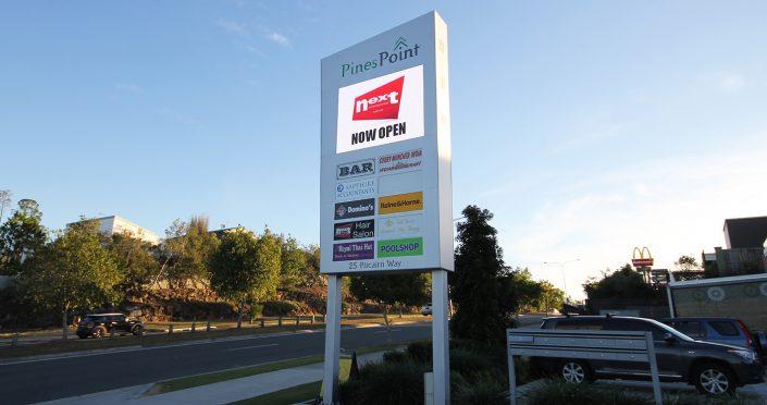 Pines Point Outdoor Billboard LED Screen Digital Advertising