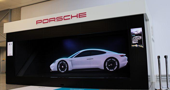 Porsche LED Screen Digital Display