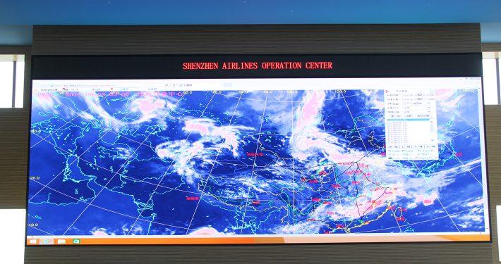 Transit Map LED Screen